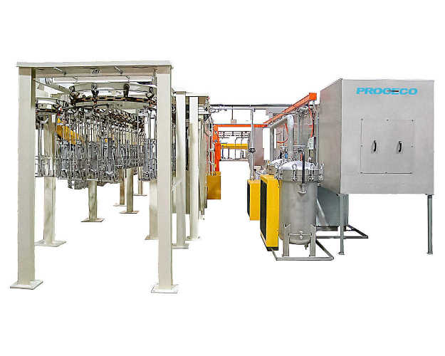PROCECO offers a fully integrated system that covers industrial parts cleaning and surface preparation processes